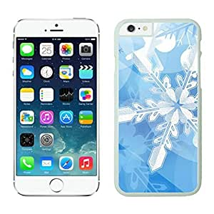 The Christmas Tree On Christmas Day Lovely Mobile Phone Protection Shell for iphone 6 Case-Unique Soft Edge Case(2015),snow iPhone 6 Case 1 White case