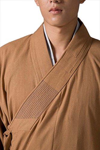 Buddhist Katuo Monk-Accappatoio Vintage, religione, cotone, lino