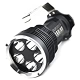 super bright Solarstorm 5 Cree XM - L T6 5000lm LED Hand - held 5 modes Flashlight 4 x18650 Powered Torch