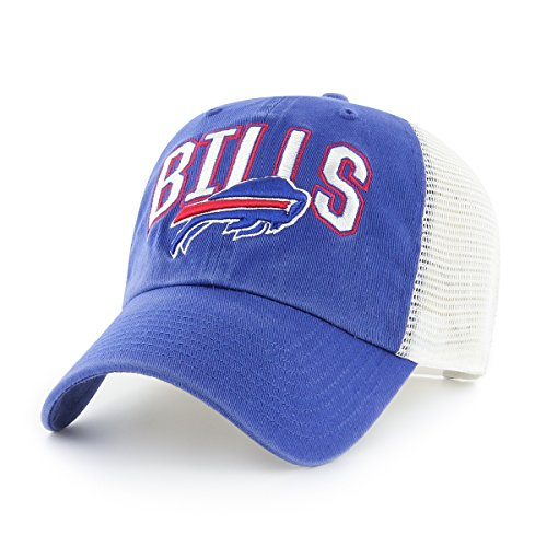 (NFL Buffalo Bills Men's Decry OTS Challenger Adjustable Hat, Team Color, One Size )