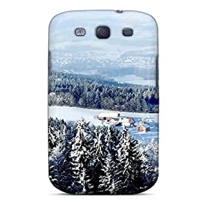Brand New S3 Defender Case For Galaxy (winter Countryside)