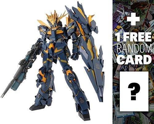 RX-0[N] Unicorn Gundam 02 Banshee Norn: PG Gundam Perfect Grade 1/60 Model Kit + 1 FREE Official Japanese Gundam Trading Card Bundle