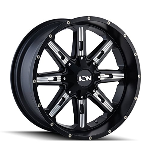 ION 184 Wheel with Milled Finish (17x9