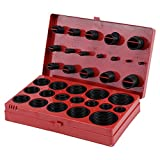 Akozon O Ring 419pcs O-Ring Assortment Set Seal Gasket Universal Rubber Kit R01-R32