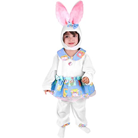 Amazoncom Childs Toddler Girl Nursery Rhyme Bunny Costume 2 4t