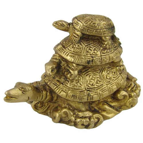 Turtles on Turtle Art Sculpture Metal