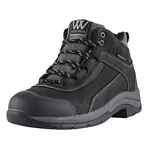 Funda de piel con funda impermeable para adultos Woof Wear Horizon de acero de botas 4-12 Nero (nero)