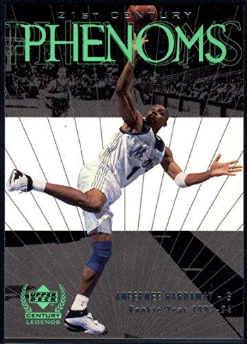 - Basketball NBA 1999-00 Upper Deck Century Legends #71 Anfernee Hardaway NM-MT Magic