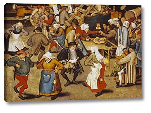 The Indoor Wedding Dance by Pieter Bruegel The Elder - 16