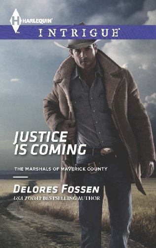 book cover of Justice is Coming