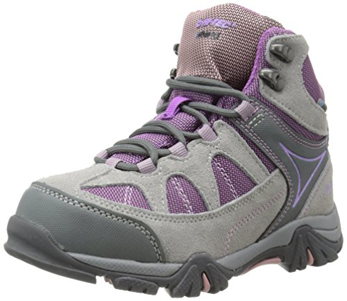 Hi-Tec Altitude Lite I Waterproof JR Hiking Boot (Toddler/Little Kid/Big Kid),Warm Grey/Orchid/Horizon,11 M US Little Kid by Hi-Tec