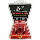 Carbon Express Torrid SS Broadhead, Expandable, Pack of 3