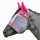 Cashel Fly mask with Pink Ears, benefits breast cancer