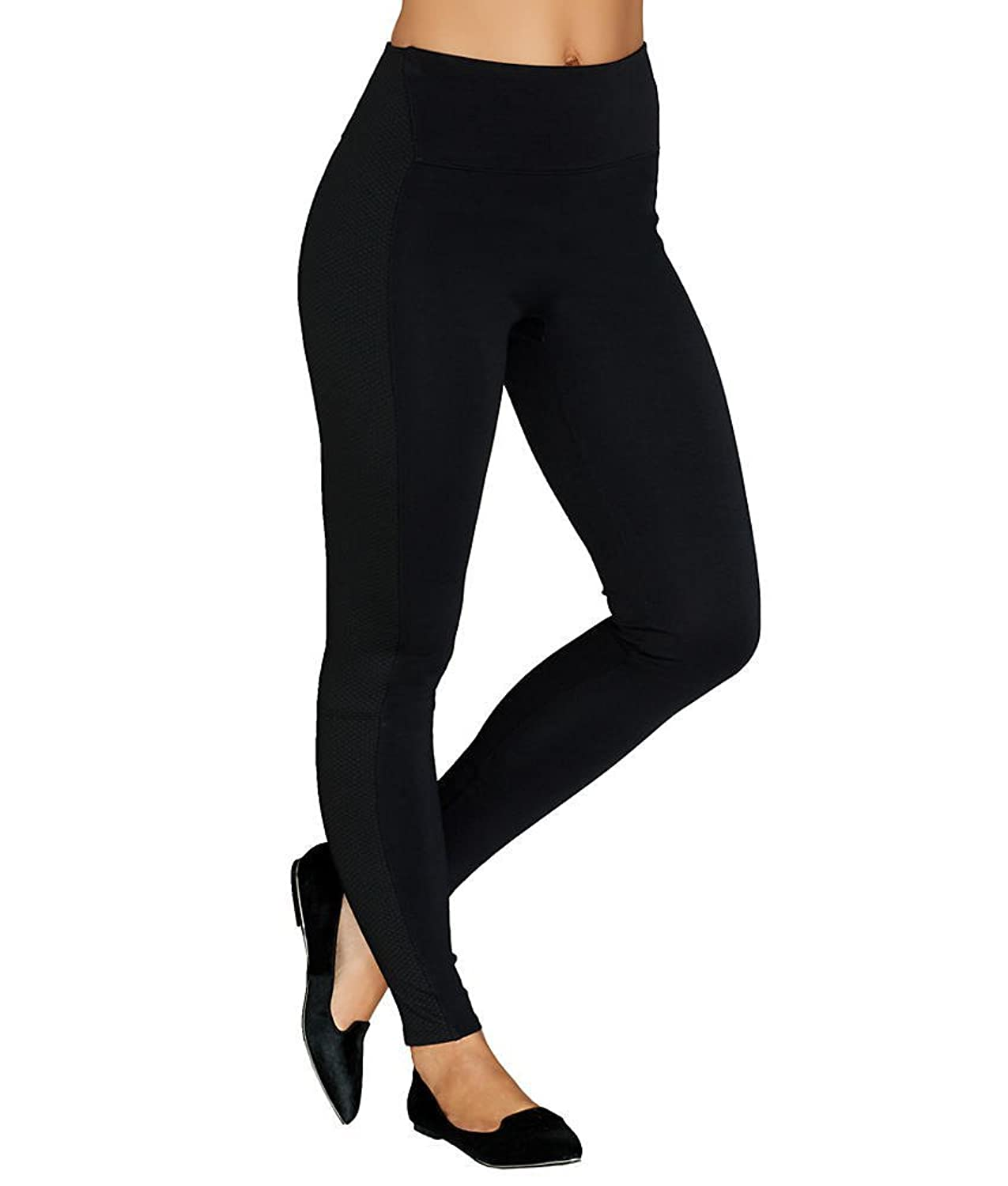 SPANX Women's Textured Panel Leggings