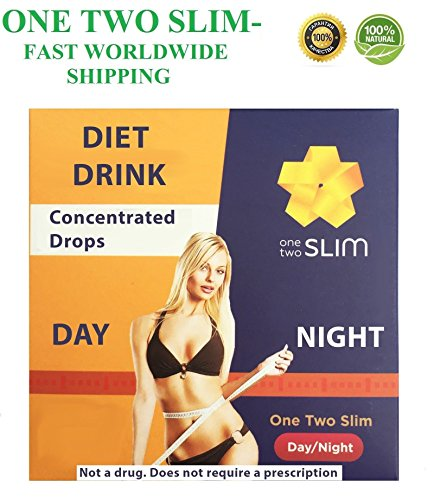 ONE TWO SLIM | ONETWOSLIM | 100% Diet Drink Weight Loss Fat Burner Diet Drops (10) by ONE TWO SLIM