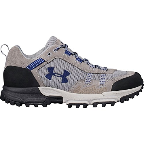 Under Armour Womens Post Canyon Low Hiking Boot Overcast Gray/Overcast Gray/Formation Blue qYExM