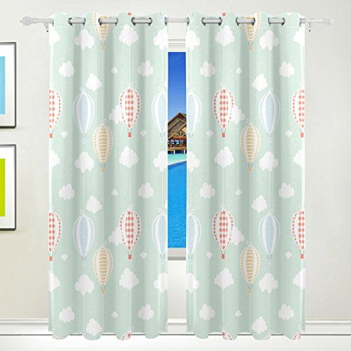 hot air balloon window curtains - 3