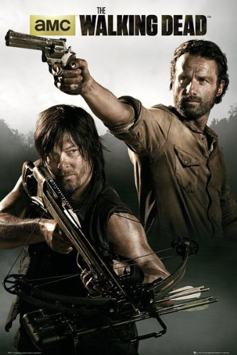 The Walking Dead - TV Show Poster Rick & Daryl