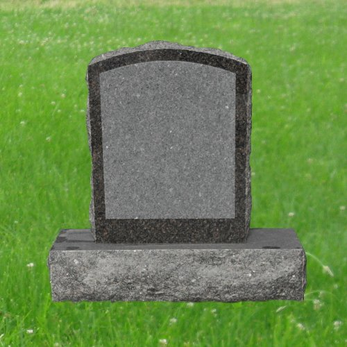 Mahogany Granite Dakota (Dakota Mahogany Granite Upright Monument Gravemarker Headstone Gravestone MN-84)