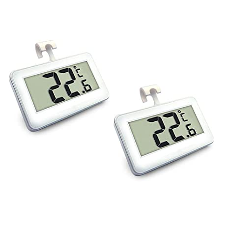 Termómetro para nevera, 2 unidades, termómetro digital para ...