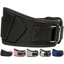 Fire Team Fit Weightlifting Belt, Olympic Lifting, for Men and Women, 6 Inch, Back Support for Lifting