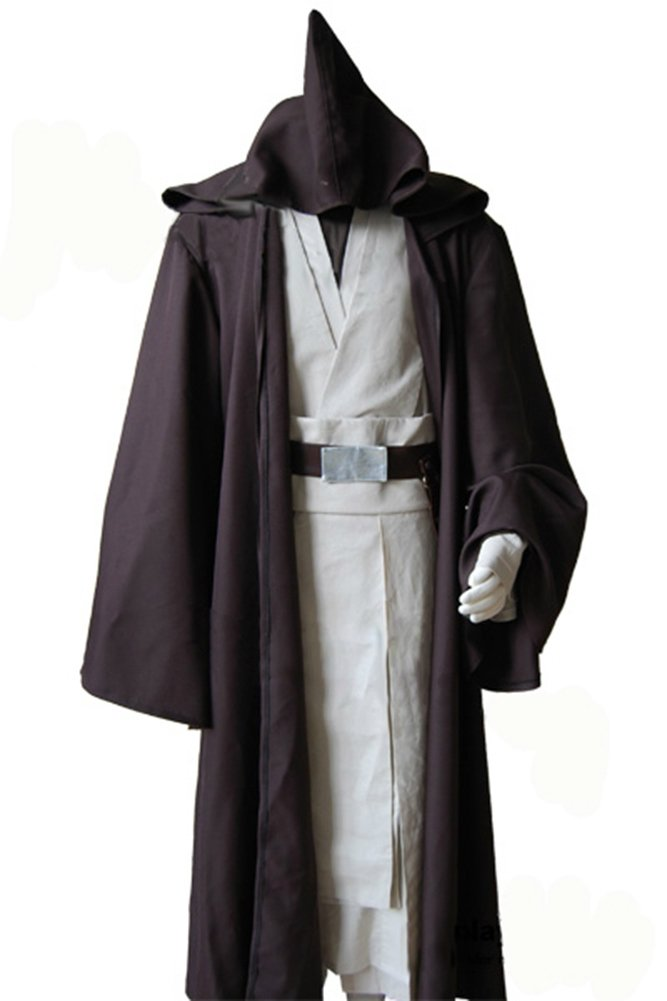 Kostor Star Wars Alter Obi Wan Kenobi Cosplay Kostüm XL Obi Wan-3 B01MFGB026 Kostüme für Kinder Viele Sorten | Am praktischsten