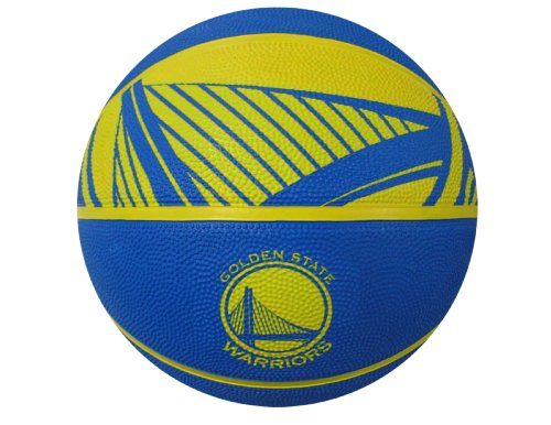 Spalding NBA Golden State Warriors Courtside Rubber Basketball