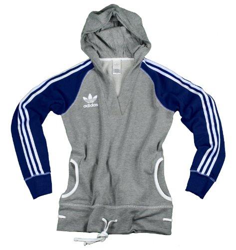 Adidas Womens Collar Hoodie Pullover