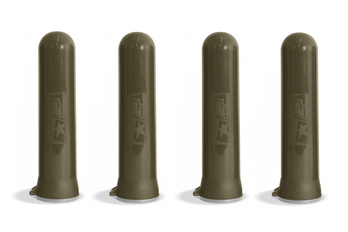 paintball Battle Pack accesorios: Planet Eclipse 140er Pod (verde oliva) Juego de 4