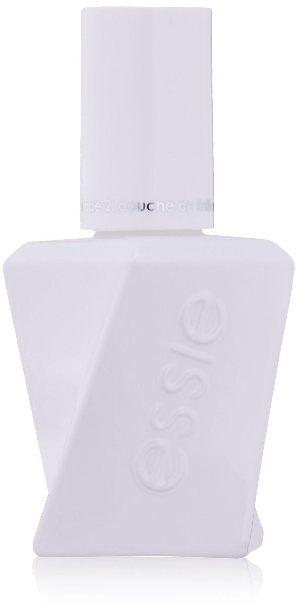 essie gel couture platinum grade finish top coat, top coat, 0.46 fl. oz. (packaging may vary)