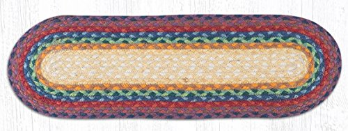 Earth Rugs 19-400 Stairtread, 27x8.25x0.17, Rainbow from Earth Rugs