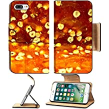 MSD Premium Apple iPhone 7 Plus Flip Pu Leather Wallet Case Closeup scene of delicious Turkish delight IMAGE 29845239