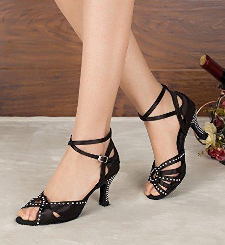 Miyoopark - salón mujer Black-7.5cm heel