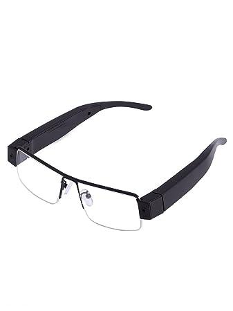 723b5804b6cca Krazzy Collection Fashion 1080P Full HD Hidden Audio Video Recorder spy Camera  Eyewear V13 Glasses Hidden