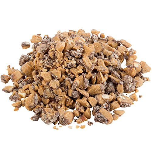Chopped Brown & Haley Almond Roca Topping - 5 lb. By TableTop King
