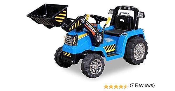 Actionbikes Motors ZP10005 - Aspirador eléctrico para niños (2 motores de 25 W, neumáticos con anillo de goma blanda, mando a distancia): Amazon.es: Juguetes y juegos