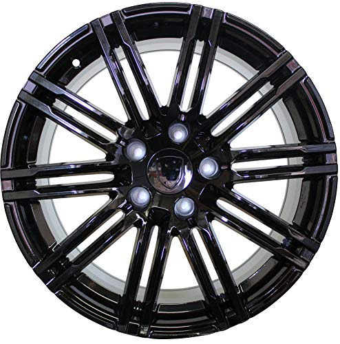 - 20 INCH Rims FITS Porsche Cayenne Turbo S GTS Base 2019 Gloss Black Wheels