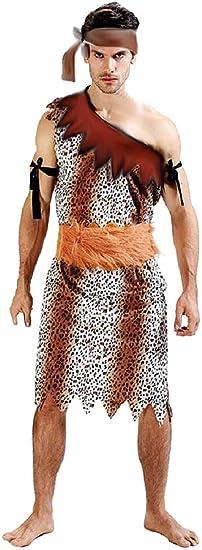 Pri09 - disfraz de hombre de las cavernas primitivo - primates ...
