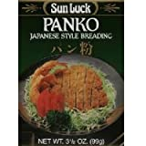 Sun Luck BG18632 Sun Luck Panko Breading Mix - 12x3.5OZ