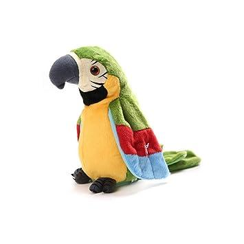 Speaking /& Talking Parrot Electric Animal Pet Toy Gift for Kids Children