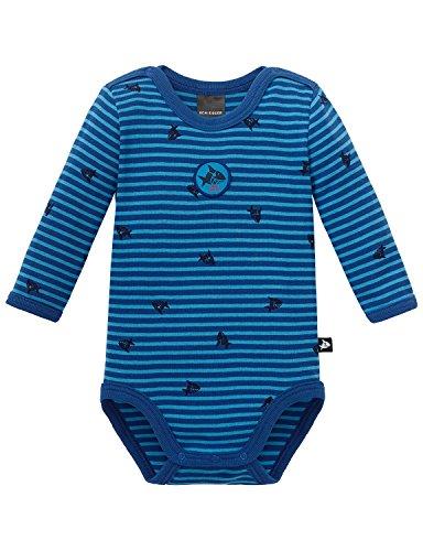 Schiesser Baby-Jungen Capt´N Sharky Body 1/1, Blau (Blau 800), 92 (Herstellergröße: 092)