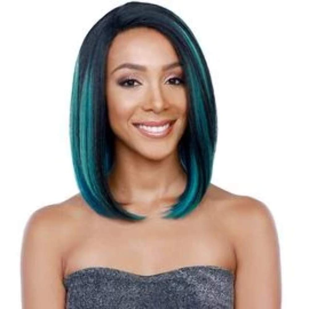 BobbiBoss Lace Front Wig - MLF-74 COPPER (1B - OFF BLACK)