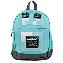 Minecraft Childrens/Kids Official Diamond Mini Backpack (One Size) (Pixel Blue)