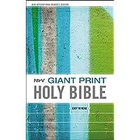 NIrV, Giant Print Holy Bible, Giant Print, Hardcover