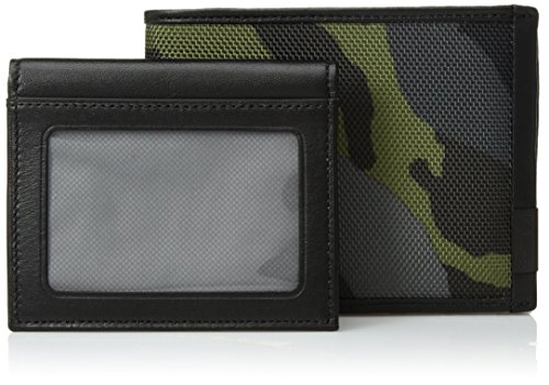 Tumi Mens Alpha Global Removable Passcase Id With Rfid Blocking  Green Camo  One Size