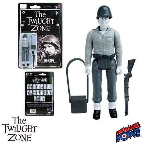 Bif Bang Pow from the Episode A Quality of Mercy Twilight Zone Retro Action Figure of Leonard Nimoy as Hansen from the Episode A Quality of Mercy
