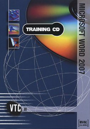 Microsoft Word 2007 VTC Training CD