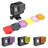 [6 Colors] Underwater Lens Filter Kit for GoPro HERO 5 Black Camera