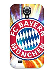 Premium Tpu Bayern Munchen Fc Logo Cover Skin For Galaxy S4