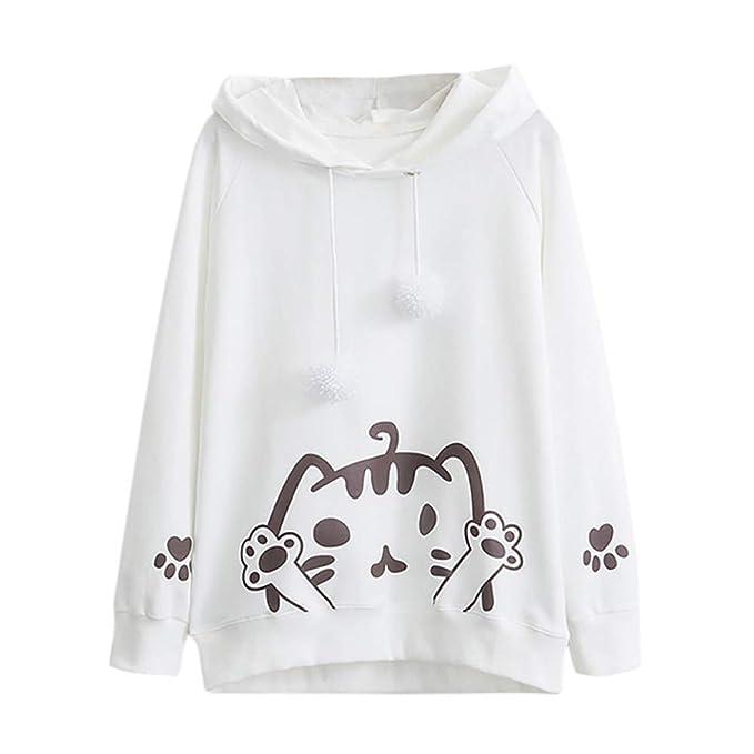 Sudaderas Cortas Adolescentes Chicas Tumblr Mujer Camiseta con Capucha Blusa - Apliques de Bordado Rose En la Manga: Amazon.es: Ropa y accesorios